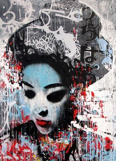 painting by Hush