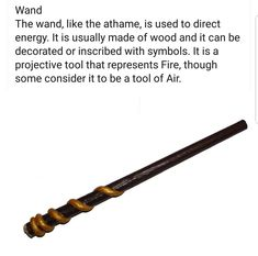 I am not a wand-user myself but can not deny some witches use it with resounding success.