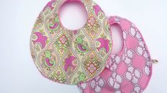 Set of 2 of Baby Girl Bibs by BabyBunniesBoutique on Etsy Bibs, Baby Gifts, Gift Ideas, Trending Outfits, Unique Jewelry, Handmade Gifts, Etsy, Kid Craft Gifts, Burp Cloths