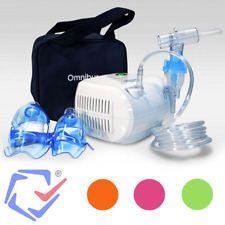 Omnibus Inhalador Inhalación medicamentos líquidos Nebulizador Aerosoloterapia