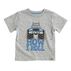 Carhartt Infant How I Roll Tee - Heather Grey - Mills Fleet Farm