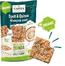 dr kargs spelt and quinoa organic wholegrain snack