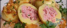 Recept Bramborové knedlíky plněné uzeným masem