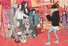 Manga Anime, Anime Demon, Anime Art, Demon Slayer, Slayer Anime, Fanart, Devilman Crybaby, Deadman Wonderland, Gekkan Shoujo