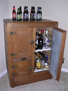 Liquor Cabinet Ideas   Google Search