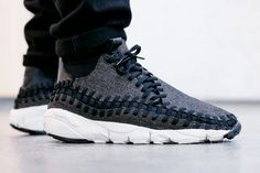 Nike Air Footscape Woven Chukka SE 'Black/Black-Ivory' (via Kicks-daily.com)