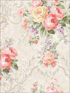 wallpaperstogo.com WTG-116449 Seabrook Designs Traditional Wallpaper