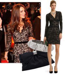 Kate Middleton look for less. Rent dress. Love