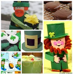 free st. patty's day crafts | St. Patrick's Day is right around the corner. Here are some recipes ...