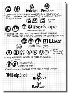 Behind The Scene:30 Great Examples Of Logo Design Process