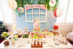 My cake + Fairy Floss decorations = Amazing .. Xixi..