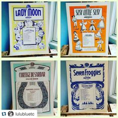 #Repost @lulubluetc with @repostapp.  These beauties and other vintage Old New Stock sheet music books are now available in the shop. These are so lovely I am definitely framing a few for my house.  #newoldstock #oldmusic #classicalmusic #pianomusic #sheetmusic #musicbook #frameworthy #vintagedecor #music #vintagemusic #centurymusic by lib.laugh.love