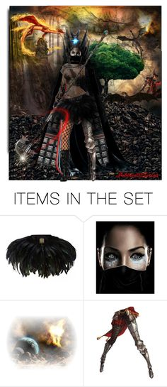 """Dragon Slayer"" by pebbles78 ❤ liked on Polyvore featuring art"