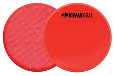 The 16A29 Flat Round Makers are ideal for all aspects of training. They can be used to help set field or grid boundaries, and are preferred by coaches because a soccer ball can roll cleanly over the marker. In addition, the gripped backing will help the marker slide less on some non-grass surfaces. Soccer Workouts, Pvc Material, Workout For Beginners, Soccer Ball, Markers, Coaching, Flats, Grid, Training