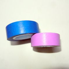 Navy Blue and Lilac Washi Tape Rolls by CloudNineSupplyShop, $7.00