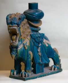 Ornement De Faitage Chine époque Ming, Olivier d'Ythurbide et Associé, Proantic