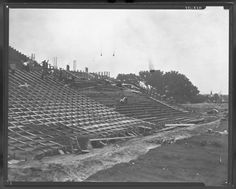 1923.......Memorial Stadium is built.....History Nebraska photo.....