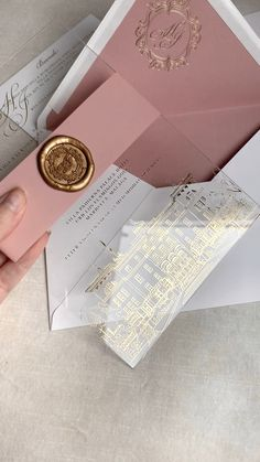 Marbella wedding venues, Anantara Villa Padierna R Pink Wedding Stationery, Acrylic Wedding Invitations, Classic Wedding Invitations, Wedding Invitation Cards, Wedding Cards, Quince Invitations, Debut Invitation, Invitation Wording, Invitation Design
