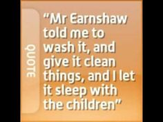 this quote reflects on nelly's first impressions of heathcliff. he is a gypsy, and she regards it as lower class. this is evident in how she calls him and it. Now one may wonder as to why mr. earnshaw has brought him home, i believe mr earnshaw had another wife who had died and he had gone to collect heathcliff... *plot twist*
