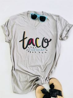 Taco Graphic Tees and Tanks   Jane