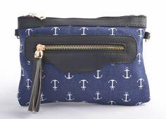 Tas | Anchor & Navy Patroon