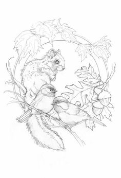 Animal Coloring Pages, Coloring Book Pages, Coloring Pages Nature, Line Drawing, Painting & Drawing, Animal Drawings, Art Drawings, Devian Art, Wood Burning Patterns