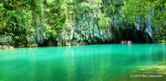 The Puerto Princesa Underground River, Palawan, Philippines #New 7 Wonders of Nature