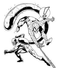 Spider Man Picture Coloring Pages Insect Coloring Pages, Spider Coloring Page, Spiderman Coloring, Coloring Pages To Print, Free Coloring Pages, Coloring Books, Spiderman Pictures, Guy Pictures, Pictures To Draw