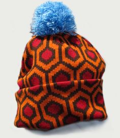 Overlook Hotel carpet, limited edition   The Shining bobble hat.  In stock soon and then never again. WANT