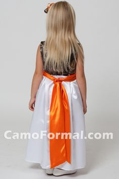 Mossy Oak Flower Girl Dresses | Mossy Oak Kids Camo Collection Camouflage Prom Wedding Homecoming ...