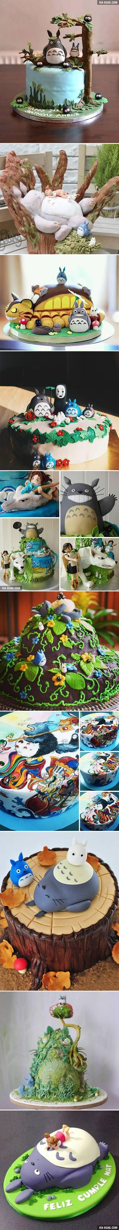 10 Totoro Cakes That Are Too Cute To Eat