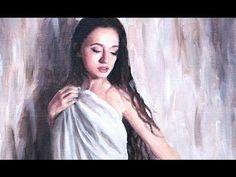 Speed Painting : Girl Under Sheet (oil) - YouTube Lena Danya