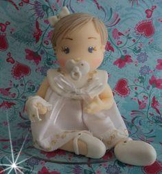 boneca em biscuit batizado.  contato:arteira_2010@hotmail.com