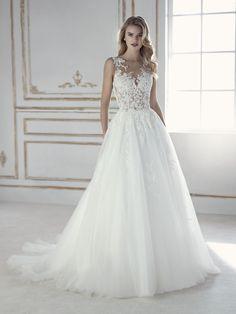 PERLA vestido de novia sexy