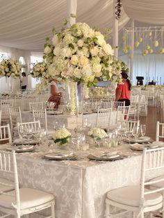 Linwoods, white wedding