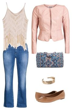 """""""my style #58"""" by maryfromnewengland ❤ liked on Polyvore featuring Vera Bradley, ONLY, Zizzi, Steve Madden and Forever 21"""