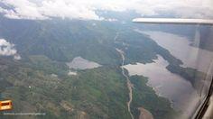 Sobrevolando Hidrosogamoso, desde el aire podemos ver la magnitud de esta obra. Gracias Cesar Augusto Pardo (https://www.facebook.com/cesaraugusto.pardoalba) por compartir esta foto #bucaramangabonita