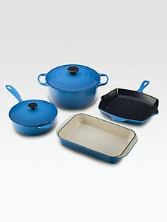 Le Creuset 6-Piece Cast Iron Cooking Set