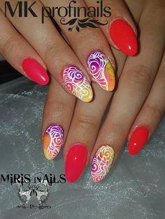 Lovenails#neonflamengo#neoncolors#neon#nails#love#