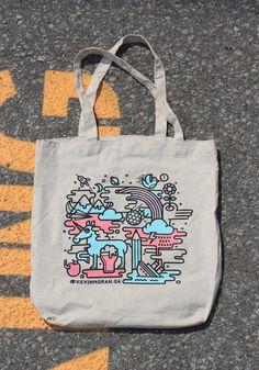 Self-Promo Tote Bag by Kevin Moran