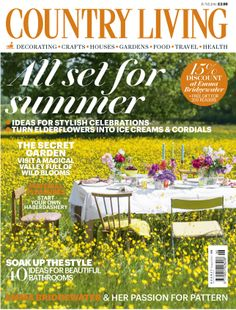 Country Living June 2014 cover countryliving.co.uk