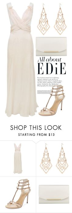 """Runaway Model"" by mari-marishka ❤ liked on Polyvore featuring D&G, René Caovilla and John Lewis"