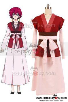 Akatsuki no Yona Princess Yona Dress Cosplay Costume ---- Akatsuki ...