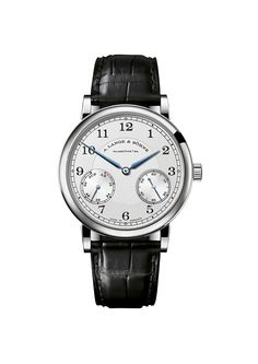Lange & Sohne 1815 Up/Down, which refers to the birth year of Ferdinand A. Lange and to the brand's iconic Up/Down power-reserve indicator, a device first used in historic pocket watches and marine chronometers.