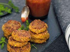 crocchette di amaranto con zucca e pomodori secchi ricetta