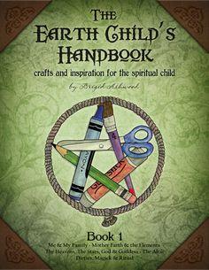 The Earth Child's Handbook - Book 1 - Pagan Kids Book. $20.00, via Etsy.