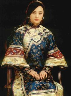 Woman of the late Qing Dynasty play by Angel