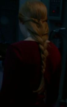 Alexis Castle (Molly Quinn) braid on ABC's Castle. Super pretty, looks simple to do.