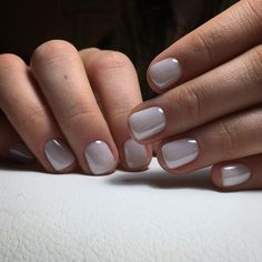 The advantage of the gel is that it allows you to enjoy your French manicure for a long time. There are four different ways to make a French manicure on gel nails. Nail Design Stiletto, Nail Design Glitter, Toe Nail Art, Toe Nails, Acrylic Nails, Orange Nail Designs, Nail Art Designs, Gray Nails, Pink Nails
