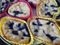 The Fat Free Queen: Fruity Fat Free Muffins (with next to no sugar added)